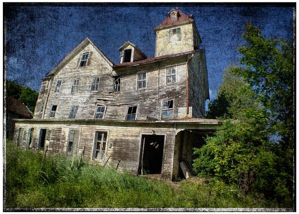 Catskill hotel 2, Version 2 - Hotel, Catskills NY - Joanne Seador Photography