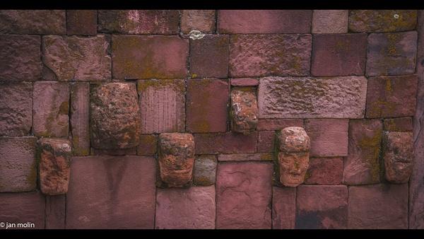 Teh face on the wall 16-9 - Bolivia uyumi saltlake, la paz, madidi and Tiwanaku