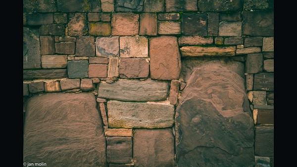 Tiwanaku wall 16-9 - Bolivia uyumi saltlake, la paz, madidi and Tiwanaku