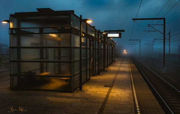 train distance - Trains and Trainsstations - Molin Photos