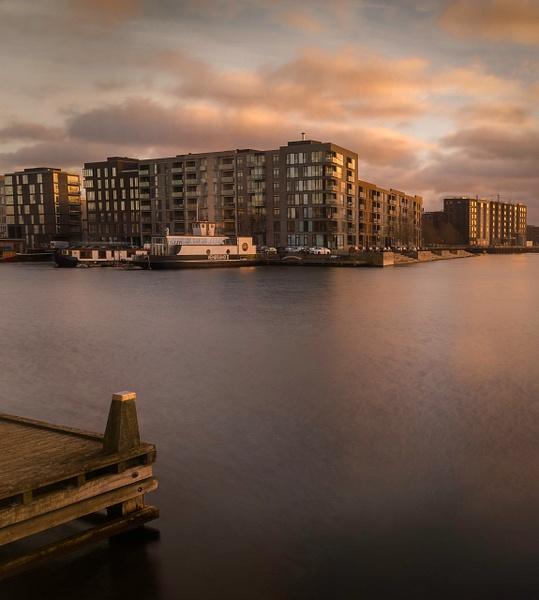 across the water - Copenhagen City, denmark