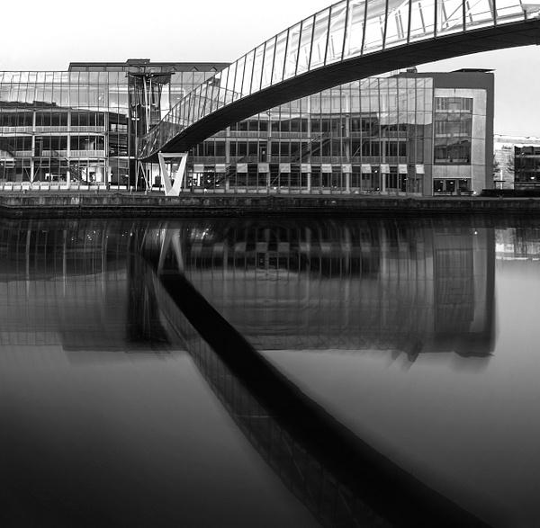 underbridge crazy waterbw - Black and white photography