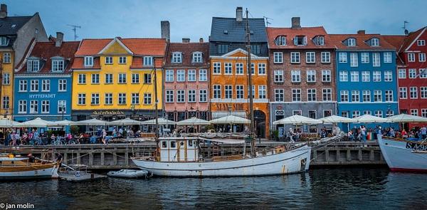 Nyhavn+HDR+Panorama - Copenhagen City, denmark