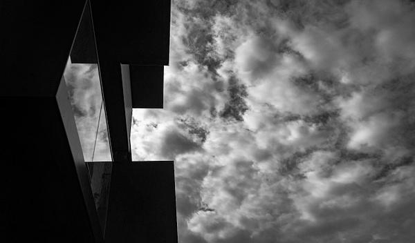 sky reflextionbw - Copenhagen City, denmark