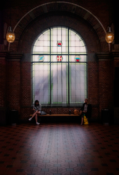 trainstation window2 - Copenhagen City, denmark