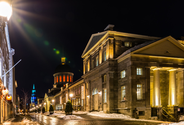 Bonsecour Market1 - A walk at night in ... Montreal - Luc Jean Photography