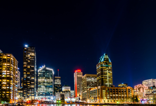 Cityscape 07 - A walk at night in ... Montreal - Luc Jean Photography