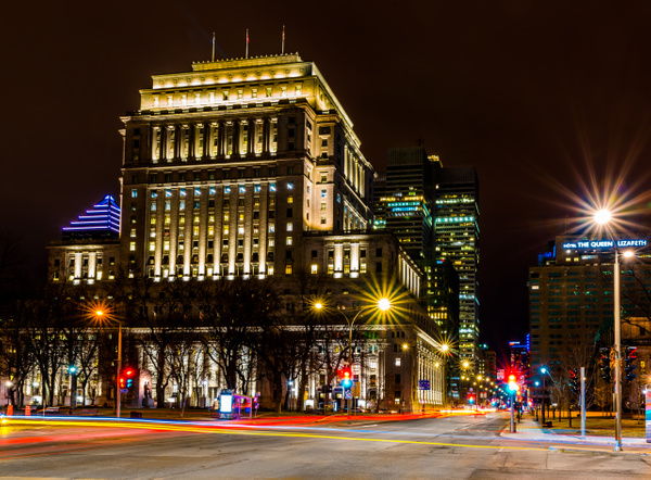 Cityscape 10 - A walk at night in ... Montreal - Luc Jean Photography