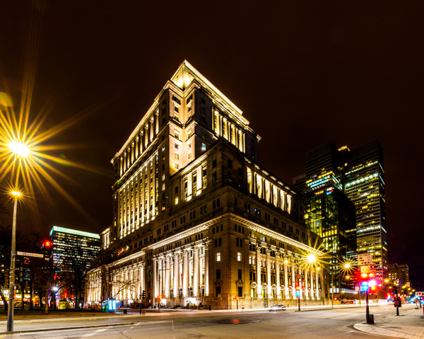 Cityscape 11 - A walk at night in ... Montreal - Luc Jean Photography