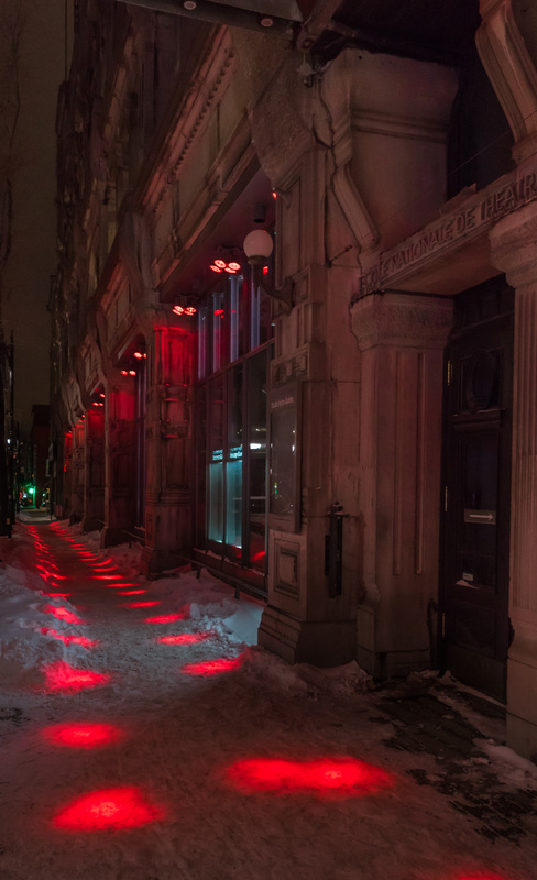 Dotted Sidewalk