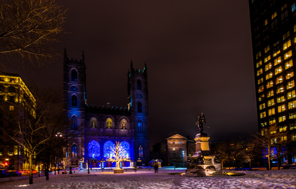 Notre-Dame Basilica by Luc Jean