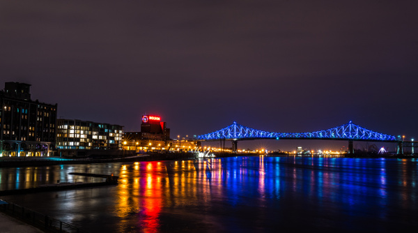 Jacques Cartier Bridge by Luc Jean