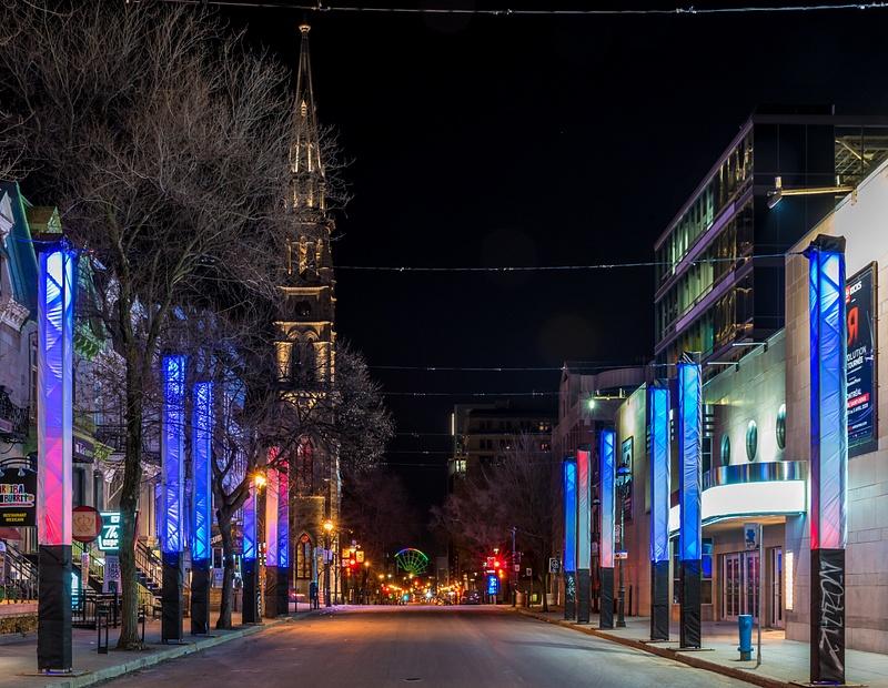 St-Denis street