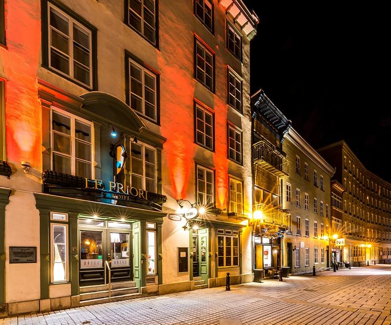 Old Quebec city - Hotel Le Priori