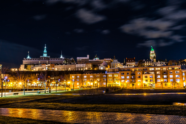 Old Quebec city 01 by Luc Jean