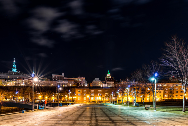 Old Quebec city 03 by Luc Jean