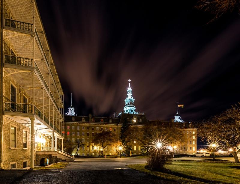 Cour intérieure du Petit Séminaire de Québec