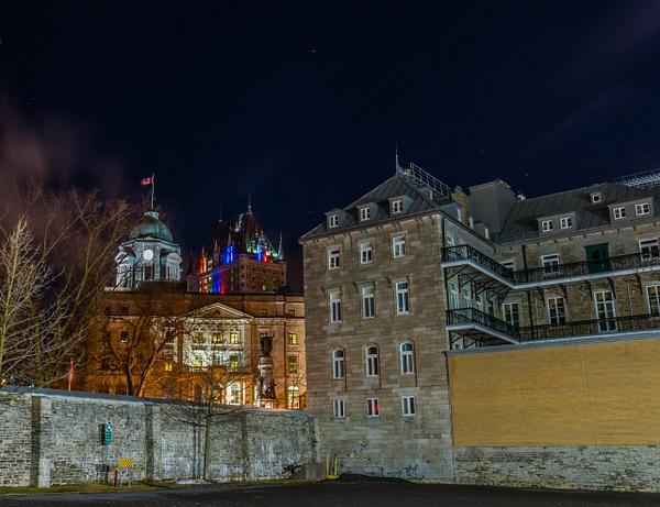De la Cour intérieure du Petit Séminaire de Québec by...