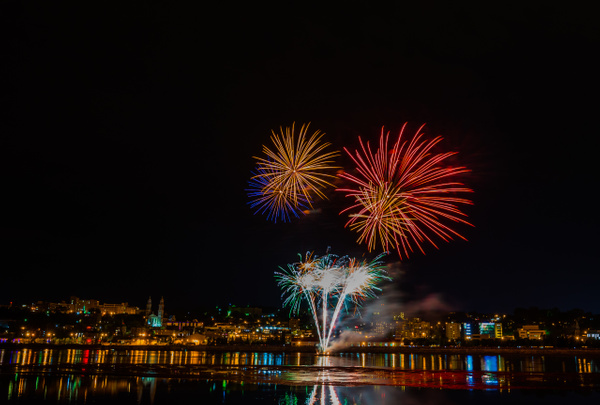 Quebec, Chicoutimi - Fireworks 01 by Luc Jean