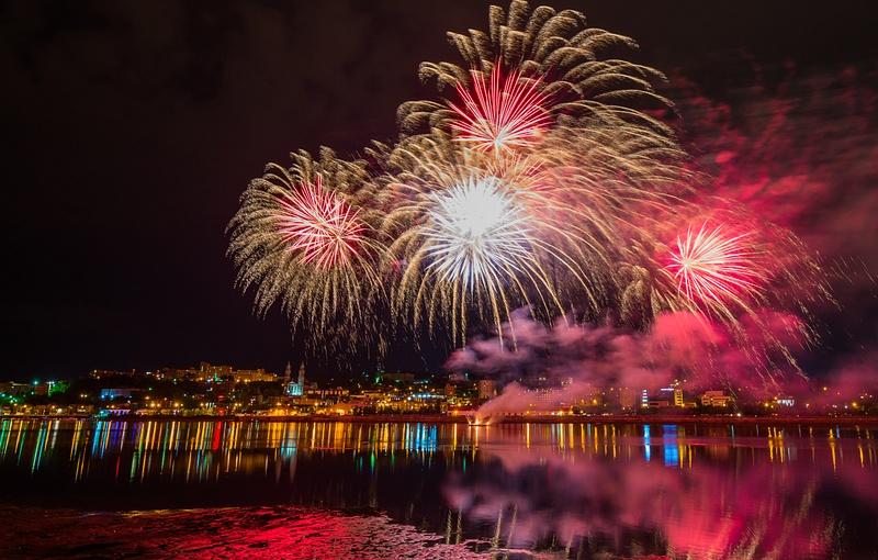Quebec, Chicoutimi - Fireworks 03