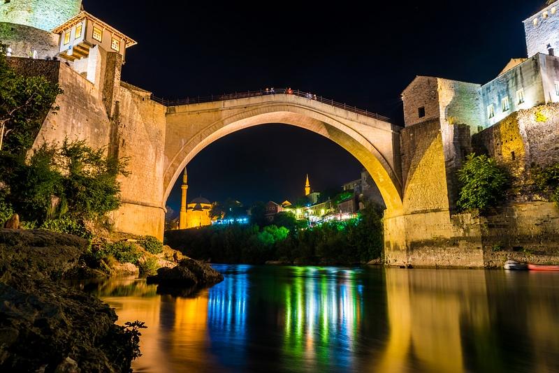 Bosnia, Mostar - Old Bridge