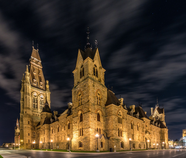 Canadian Parliament - West Block 3 by Luc Jean