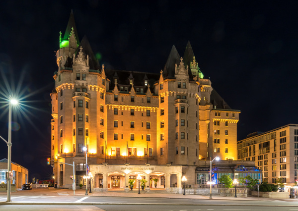 Chateau Laurier by Luc Jean