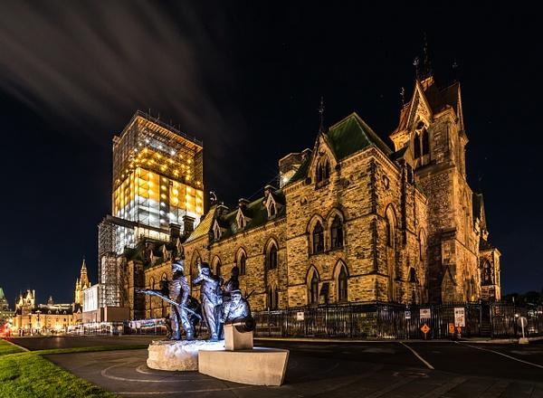 The 1812 War Memorial - East Block by Luc Jean
