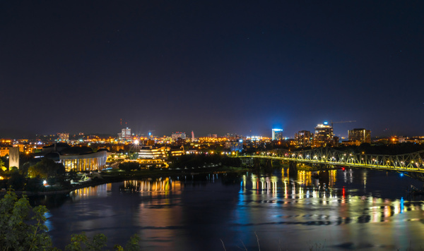 View of Gatineau from Ottawa by Luc Jean