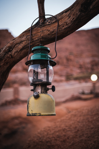 Gasoline lampe by Andreas Maier