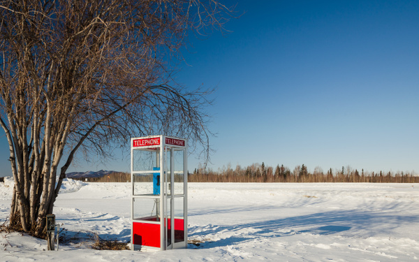 Telephone booth by Andreas Maier