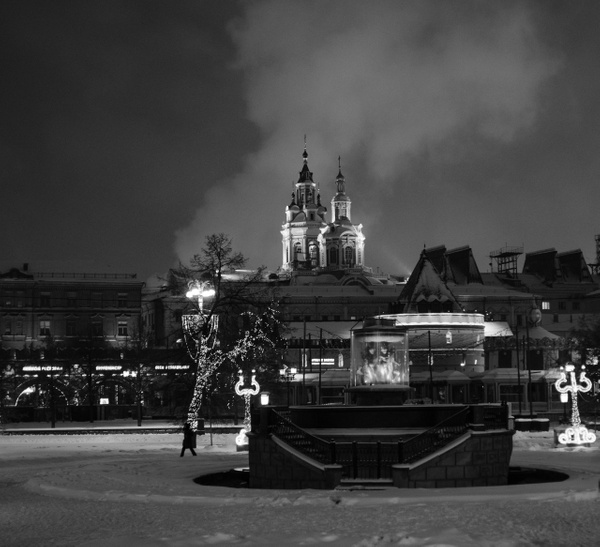 Moscow at night by Andreas Maier