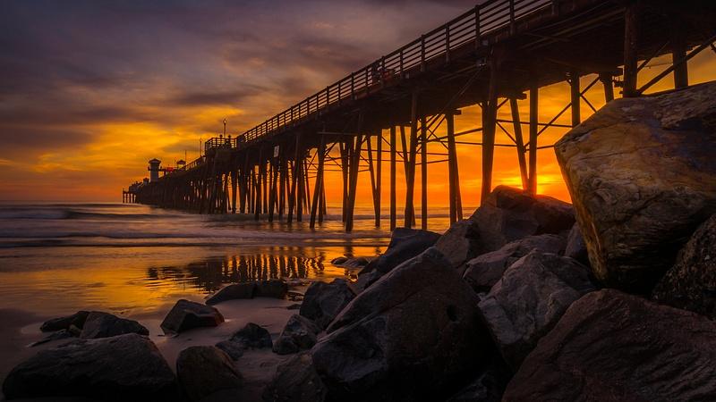 Oceanside Pier at Golden Hour
