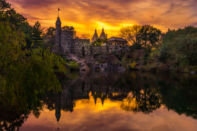 Belvedere Castle at Golden Hour