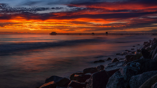 Oceanside Pier (Sunset) 1 (2020)
