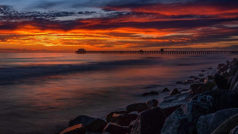 Oceanside Pier (Sunset) 1 (2020)