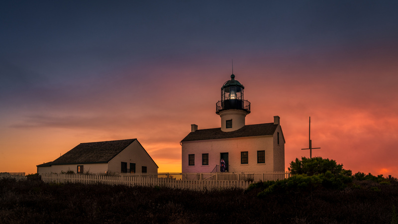 Old Point Loma Lighthouse 6