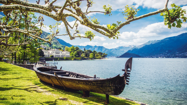 Ancient boat by Como Lake - Landscapes & Cityscapes - Arian Shkaki Photography