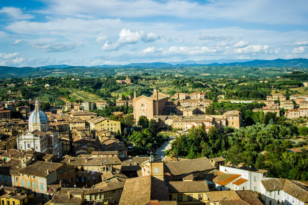 Siena from above - Home - Arian Shkaki Photography
