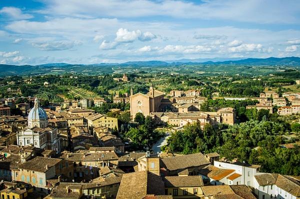 Siena from above - Home - Arian Shkaki Photography