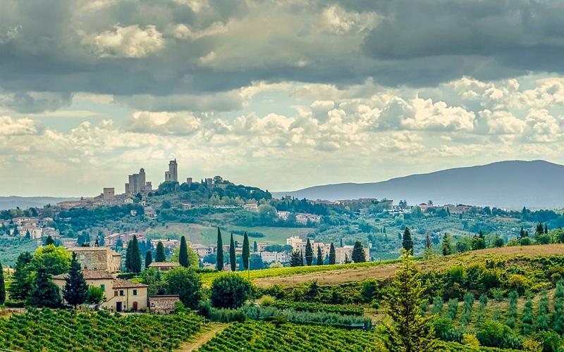 San Gimignano, The Province of Siena, Tuscany