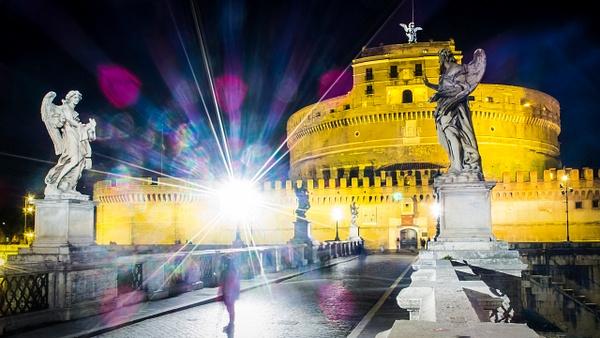 Castel Sant'Angelo, Rome by Arian Shkaki