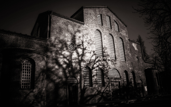 St. Sophia Church - Black and White - Arian Shkaki Photography