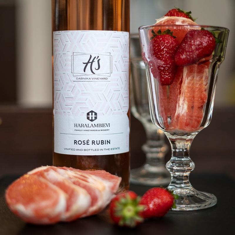 Rose Rubin, Haralambievi  Family Vineyards and Winery