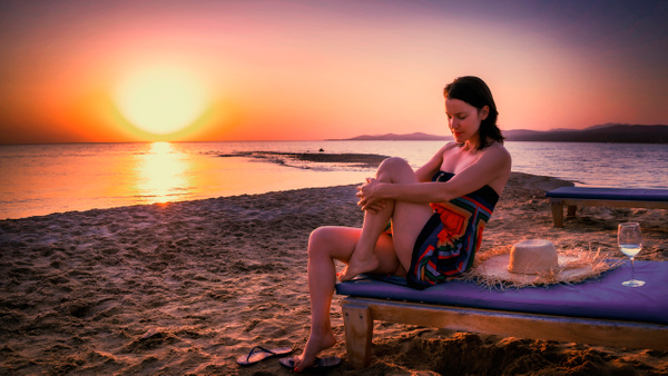 Cherishing the solitude by Arian Shkaki