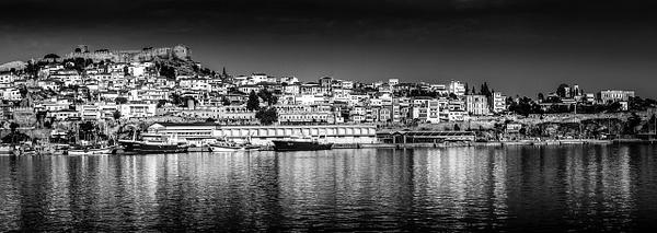 Kavala, Greece - Black and White - Arian Shkaki Photography
