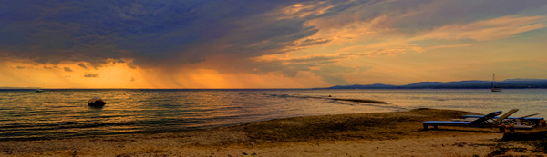 Beach Panorama - Landscapes & Cityscapes - Arian Shkaki Photography