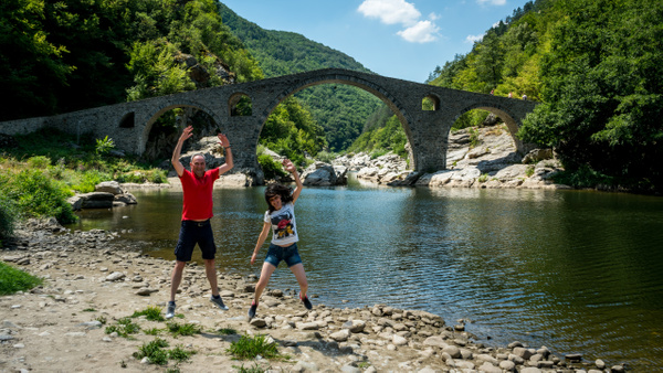Rhodope Mountains and the Devil's Bridge - Код ЗЕЛЕНО - Code GREEN - Arian Shkaki