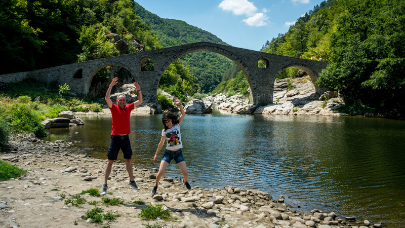 Rhodope Mountains and the Devil's Bridge