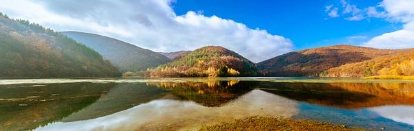 Autumn Panorama by Arian Shkaki